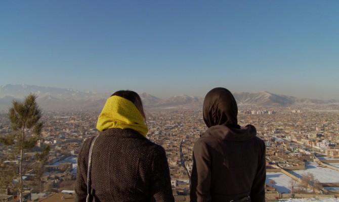Kirsi Mattila ja Marzia Gholani tapasivat useita kertoja Afganistanissa.